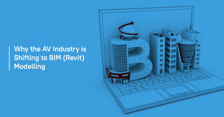 Why the AV industry is shifting to BIM (Revit) modelling